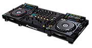 Digital Pro-Grade console for DJs